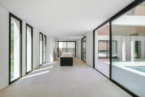 Wohn-und Essbereich mit direktem Terrassenzugang