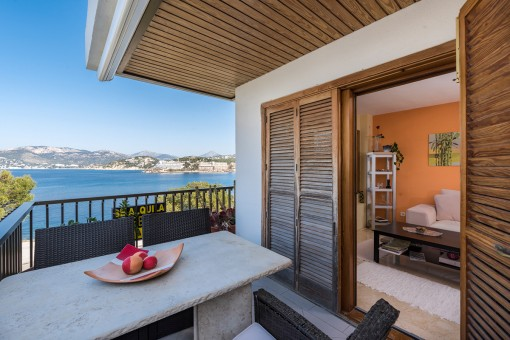 Wunderschönes Penthouse am Meer mit einer großen Dachterrasse in Santa Ponsa