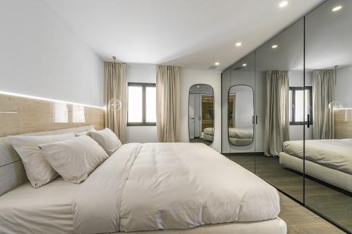 Eines von 2 Schlafzimmer