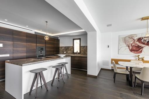 Essbereich und Küche