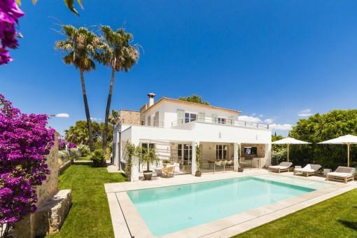 Wunderschöne, nach Süden ausgerichtete Luxusvilla in Nova Santa Ponsa