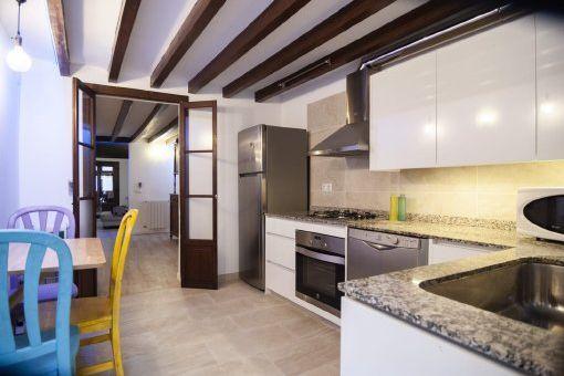 Kürzlich renoviertes Erdgeschoss-Appartment mit Patio und 2 separaten Eingängen in bester Altstadtlage in Palma