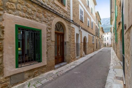Außenbereich des Dorfhauses