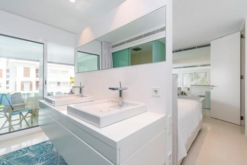 Außergewöhnliches Badezimmer en Suite