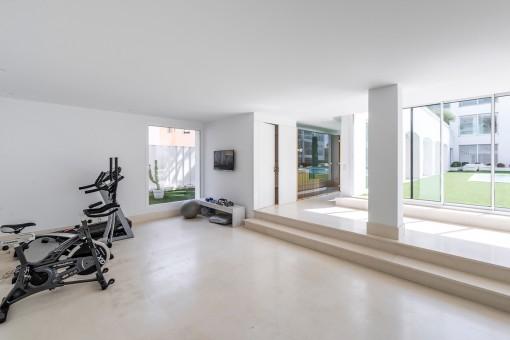 Fitnessraum im Gemeinschaftsbereich