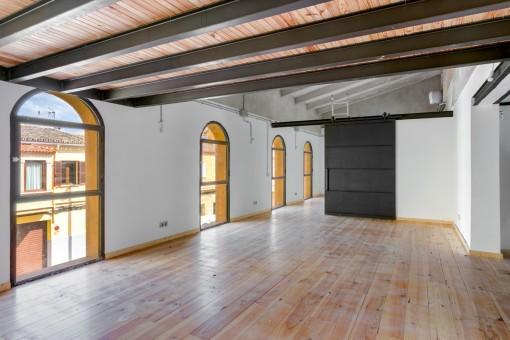 Großes und helles Loft in zentraler Lage in Palmas Stadtgebiet