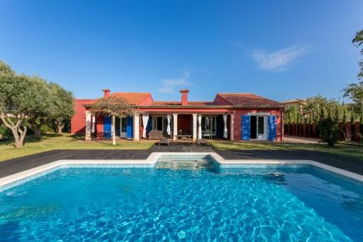 Herrliche Villa mit großem Gartenbereich in Sa Planera, nahe Palma