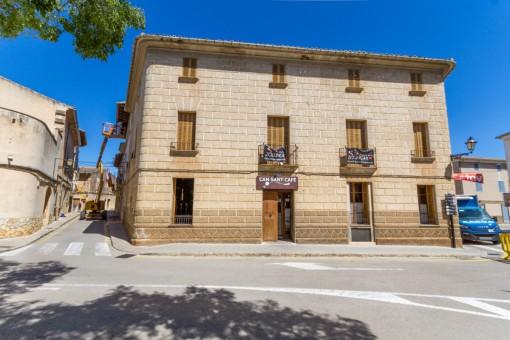 Achtung Investoren! - Sehr schönes Stadthaus mit Restaurant im Herzen von Algaida