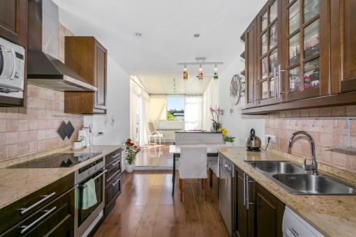 Schöne Erdgeschoss-Wohnung mit eigenem Garten im beliebten Viertel El Molinar
