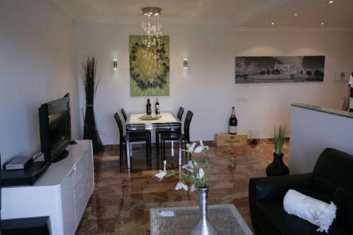 Schönes Apartment mit Terrasse nahe Playa de Palma