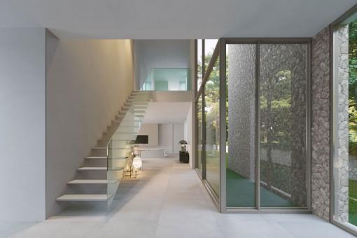 Elegantes Design der Villa