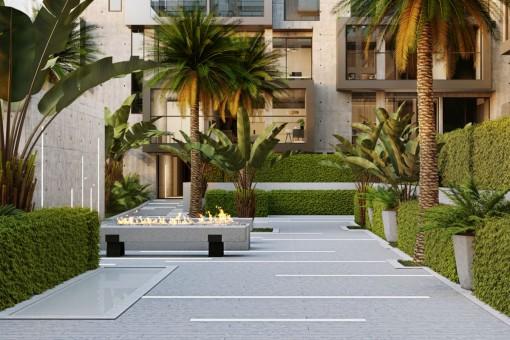 Wunderschöne, helle Wohnung mit Aussicht und Terrasse-Apartment in Nou Llevant in Palma