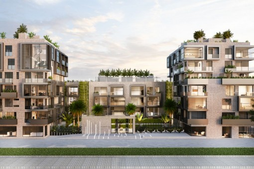 Tolle Erdgeschosswohnung zum Erstbezug in einer Luxusanlage - Apartment in La Soledad Sud in Palma