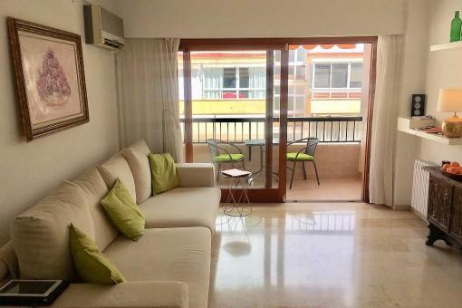 Komfortabel ausgestattete Wohnung mit Balkon in zentraler und ruhiger Altstadtlage Palmas