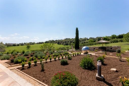 Spektakulärer Garten