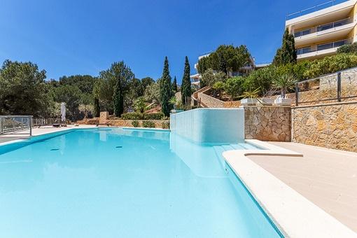 Ruhige Erdgeschosswohnung mit großem privaten Garten in Sol de Mallorca
