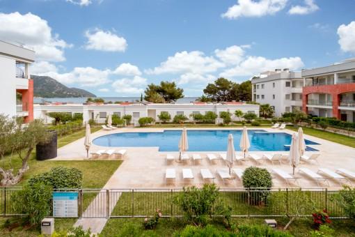 Moderne Lifestyle-Wohnung mit sensationellen Meerblick in Port Verd
