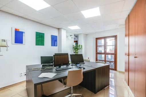 Offener Bürobereich