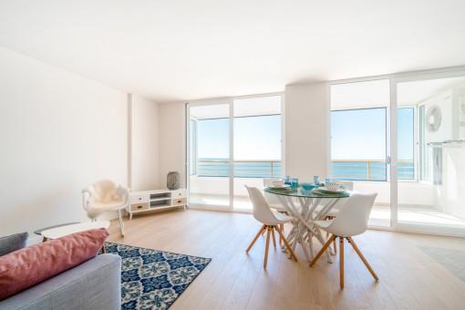 Schicke Wohnung mit Panorama-Meerblick in San Agustin