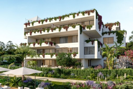 Modernes Apartment in einer Neubau-Wohnanlage in Nova Santa Ponsa