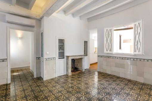 Kokette Penthaus-Wohnung in ruhiger Altstadtlage Palmas