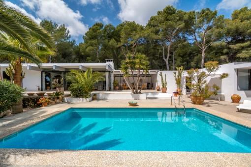 Schöne und privat gelegene Villa in einer exklusiven Wohngegend in Cala Ratjada