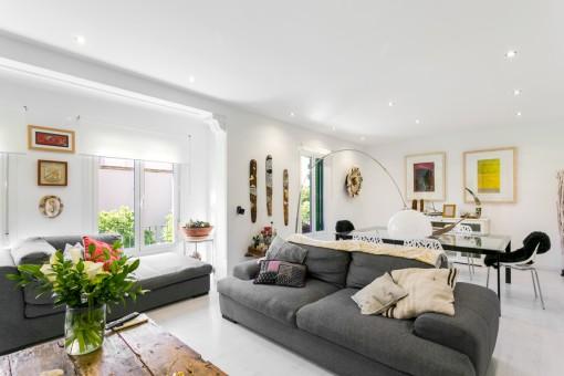 Wunderschöne helle Wohnung mit Parkplatz in Palma Bons Aires