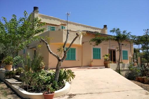 Mallorquinisches Landhaus mit Weitblick bei Campos