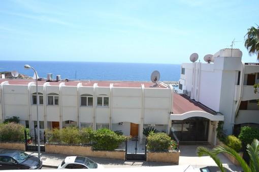Meerblick von der Wohnung aus