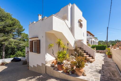 Modernisieren - Einziehen - Wohlfühlen: Turmvilla in Strandnähe von Cala Santanyí