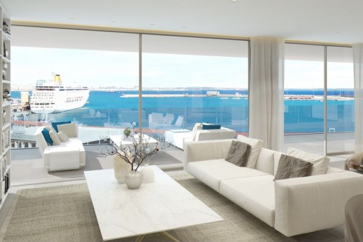Neubau-Luxusapartment am Paseo Maritimo in Palma