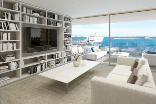 Spektakuläre Lofts mit Blick auf den Hafen von Palma