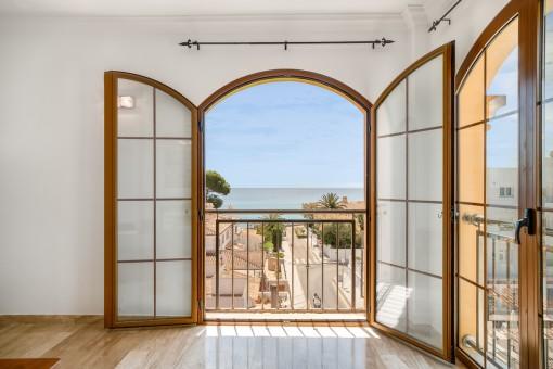 Wunderschönes Penthouse mit Meerblick im Zentrum von Cala Ratjada