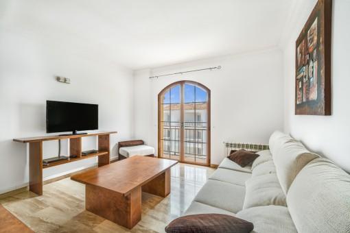 Helle und schöne Wohnung im Herzen von Cala Ratjada und nur wenige Gehminuten vom Son Moll Strand entfernt