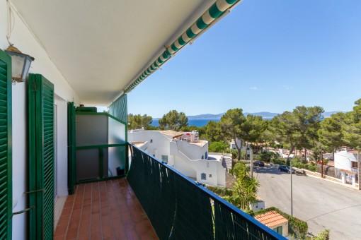 Moderne Wohnung mit Panoramablick in Cala Blava