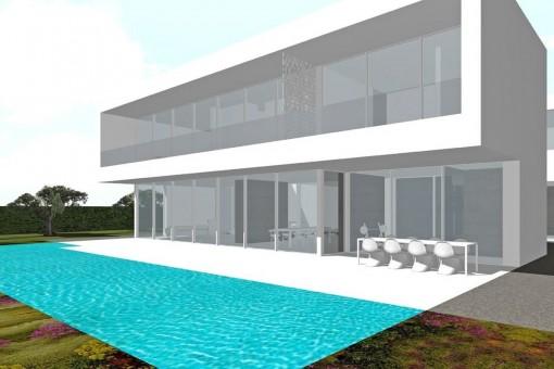 Alternative Ansicht des Projekts