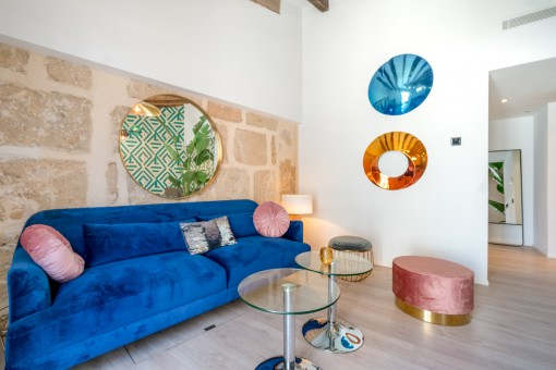 Außergewöhnliches Design-Townhouse mit künstlerischem Touch in Santa Catalina