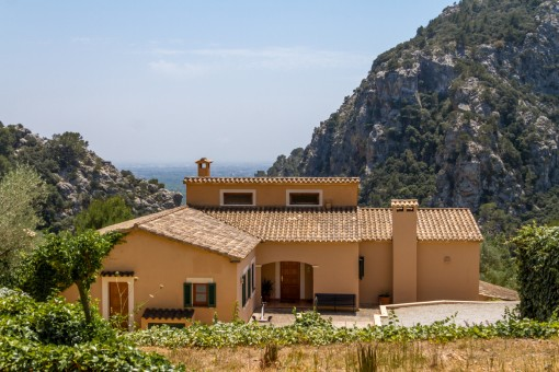 Fantastische Finca mit Panoramablick und Gästehaus in Valldemossa