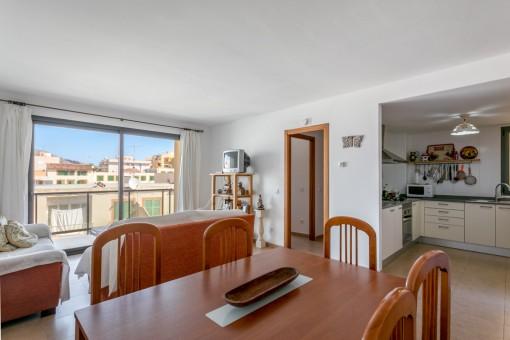 Praktische Wohnung in zentraler und doch ruhiger Lage in Cala Ratjada