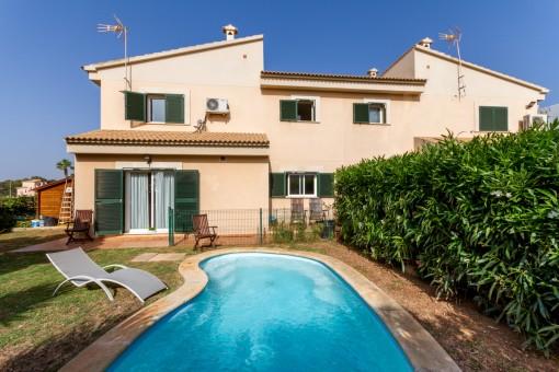 Gepflegtes Haus in privilegierter Wohngegend von Puig de Ros
