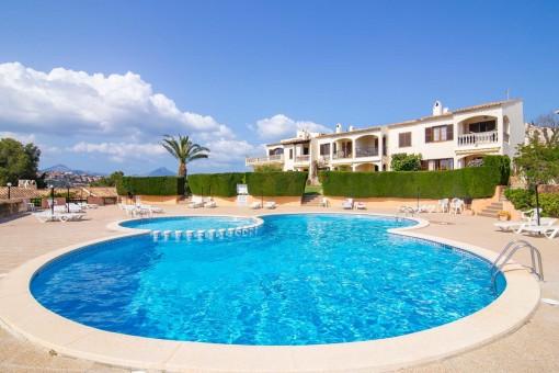 Romantisches Apartment mit Weitblick über Santa Ponsa