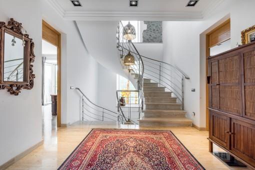 Beeindruckendes Treppenhaus