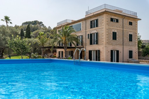 Moderne, renovierte Finca mit separatem Gästehaus und Apartment in der Nähe von Son Moix, Palma