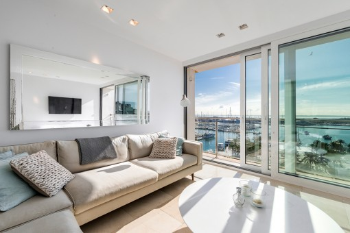 Exklusives Penthouse mit Galerie und traumhaftem Meerblick in Palma