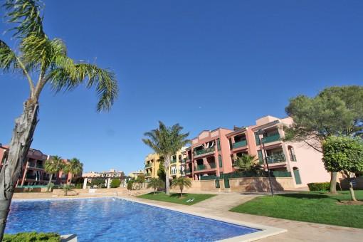 Penthousewohnung in toller Wohnanlage mit Gemeinschaftspool in Sa Torre