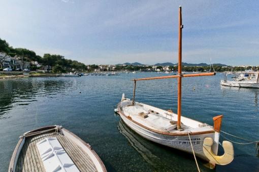 Der Hafen von Portocolom