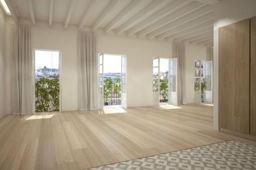 Stadtappartement in charmant saniertem Haus in Santa Catalina