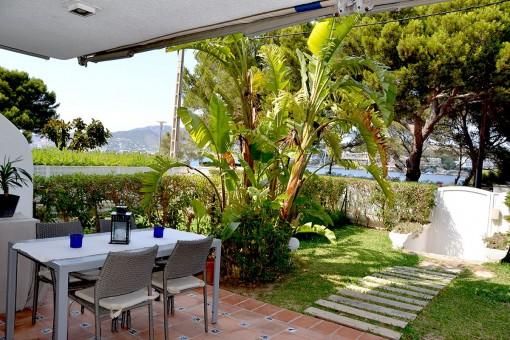 Ideal gelegene Wohnung in toller Anlage in Santa Ponsa für 10 Monate ab September