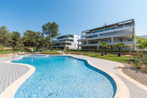 Penthousewohnung in bester Lage von Nova Santa Ponsa