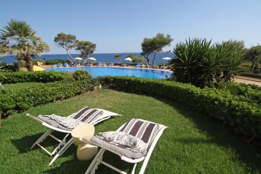 Luxuriöse Wohnung mit sensationellem Meerblick in Vallgornera